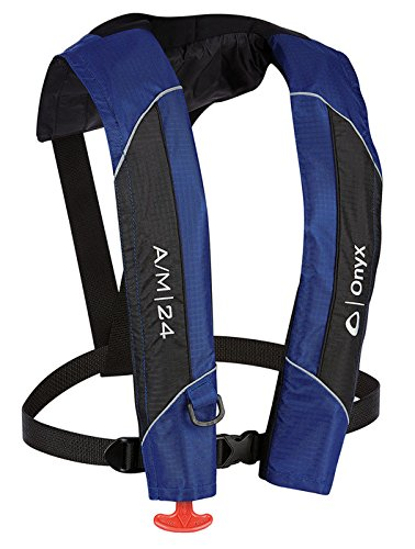 ABSOLUTE OUTDOOR Onyx A/M-24 Automatic/Manual Inflatable Life Jacket
