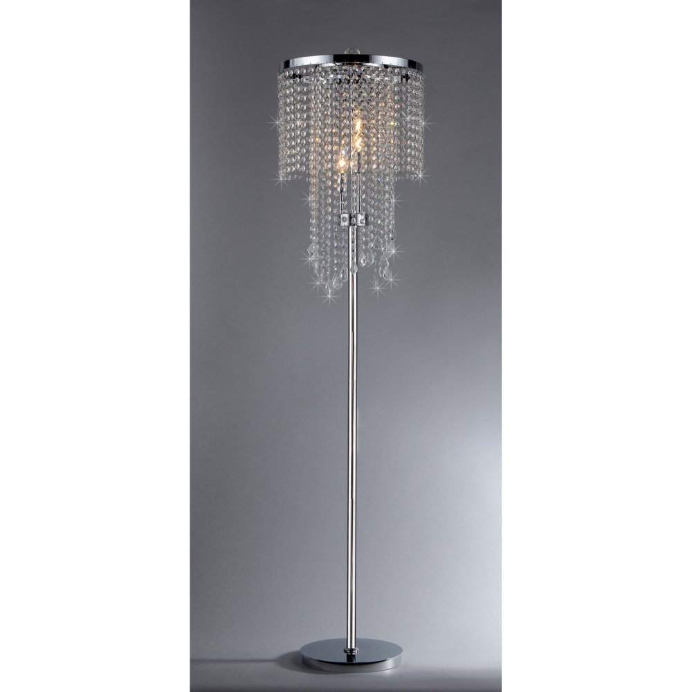 13 best chandelier floor lamps 2018 decor your house with light diana crystal floor lamp arubaitofo Choice Image