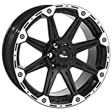Dick Cepek Torque Flat Black Wheel with Machined Accents (16x8