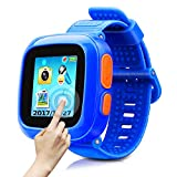 Game Smart Watch of Kids, Girls Watch with Game,Kids Smartwatch with Game Wrist Watch Education Toys Boys Girls Gifts (Dark Blue)