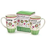 Burton And Burton 128425 Mug Love Is Patient Love Is Kind With Gift Box