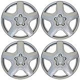 Drive Accessories KT-987-15S/L, Toyota Matrix, 15' Silver Lacquer Replica Wheel Cover, (Set of 4)