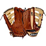 Wilson 2018 A2K 1775 Outfield Right Hand Gloves, Copper/Blonde, 12.75'