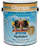 Olympic Hydrolon Water-Based Acrylic Swimming Pool Paint - Blue Ice