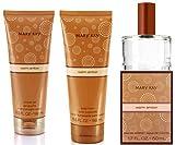 Warm Amber 3-piece Fragrance Gift Set: Warm Amber Eau de Toilette, 1.7 Oz- Warm Amber Body Lotion, 6.5 oz & Warm Amber Shower Gel, 6.5 oz