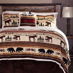 Carstens Moose Bear Comforter Set