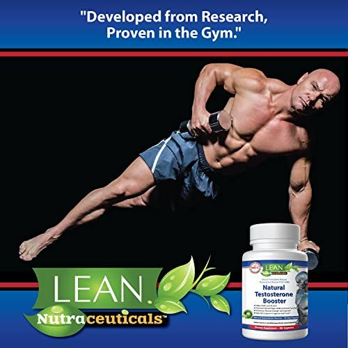 Lean Nutraceuticals Md Certified Testosterone Booster for Men Supplement Natural Actives Metabolism Booster Muscle Builder Tongkat Ali, Tribulus Territis, Horny Goat, Dhea, DAA, Fenugreek 90 Caps 7