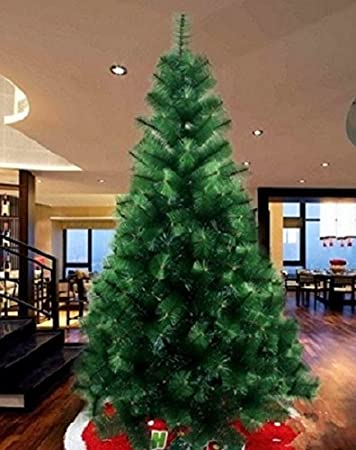 Buy 10feet Feet Pine Needle Artificial Christmas Tree With Lights And Decoration For Gift Online At Low Prices In India Amazon In