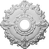 Ekena Millwork CM18RL Ceiling Medallion, 18', Primed