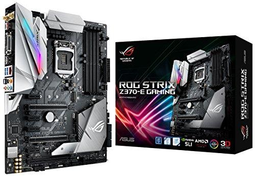 ASUS ROG Strix Z370-E Gaming LGA1151 (Intel 8th Gen) DDR4 DP HDMI DVI M.2 Z370 ATX Motherboard with onboard 802.11ac WiFi and USB 3.1