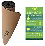 Oeco Plus Original Cork Yoga Mat (72' x 24' x 5mm Thick)