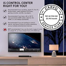 Caavo-Control-Center-Smart-Remote-and-Home-Theater-Hub-with-Voice-Control-Pay-As-You-Go-Plan