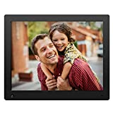 NIX Advance 15 Inch Digital Photo Frame X15D - Digital Picture Frame with IPS Display, Motion Sensor, USB and SD Card Slots and Remote Control