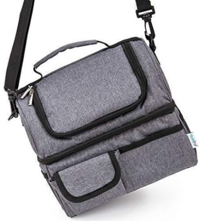 Best Lunch Bags for Women or Men  Grey Thermal Lunch Bag for Men Woman  Adult 2adee5bbd9bc