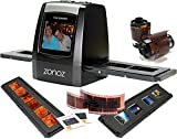 zonoz FS-ONE 22MP Ultra High-Resolution 35mm Negative Film & Slide Converter Scanner w/ 2.4' TFT LCD - No Computer or Software Required - TV Out Cable Included & Worldwide Voltage 110V/240V AC Adapter