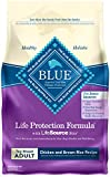 Blue Buffalo Life Protection Formula Toy Breed Dog Food - Natural Dry Dog Food for Adult Dogs - Chicken and Brown Rice - 4 lb. Bag