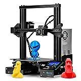 SainSmart x Creality Ender-3 3D Printer, Resume Printing V-Slot Prusa i3, Build Volume 8.7