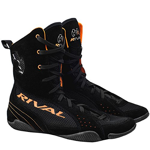 RIVAL BOXING BOOTS-RSX ONE-HIGH TOPS (ORANGE, 9)