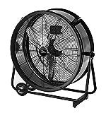 Lakewood 24-Inch Industrial Grade Drum Fan, LUF2402A-BM