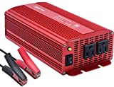 BESTEK 4350464960 1000 Watt 12 Volt Power Converter 1000w DC to AC Car Electronics Devices Inverter