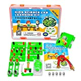 OSOYOO STEM Science Experiment Set,Physics Electromagnetic Lab Learning Kit,Electricity and Magnetism, for Kids Middle High School Students,Fun While Learning,Recommend for Age 5+ (Advanced Lab Kit)