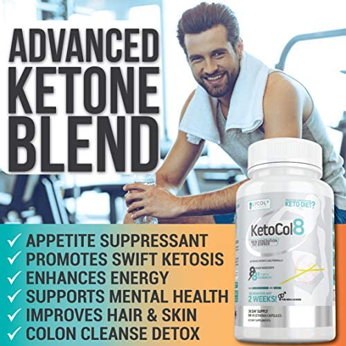 KetoCol8 Keto Pills with Apple Cider Vinegar Capsules BHB Salts for Women and Men 15 Billion CFU Ultimate Keto Diet Supplement Triggers Ketosis Boost BHB Production and Utilizes Fat for Energy 8