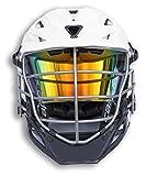EliteTek LAX Lacrosse Visor Eye Shield fits Cascade Helmets (Clear Orange Sunset Colored, Model 1)