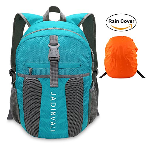 JADINVALI Travel Backpack Daypack Hiking Backpack Lightweight Packable Foldable Collapsible Backpack Camping Outdoor Travel Cycling School Backpacking 20 Liters