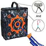 Junpro Target Pouch Storage Carry Equipment Bag with 2PCS Hooks for Nerf Guns Darts N-Strike Elite / Mega / Rival Series