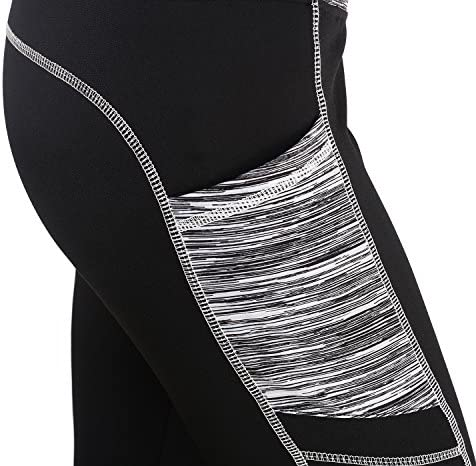 Sugar Pocket Women's Workout Leggings Running Tights Yoga Pants 5
