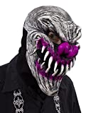 Zagone Studios UV Black Light Reactive Last Laugh Evil Clown Mask