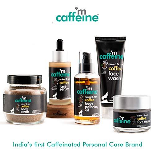 51vwPGpS1sL mCaffeine Coffee Anti Pollution Kit   Deep Cleanse, Blackheads Removal   Face Wash (100ml), Face Scrub(100gm)   Oily/Normal Skin   Paraben & SLS Free