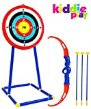Kiddie Play Toy Archery Set for Kids with Target Bow and Arrow Kids Toys Age 5, 6, 7, 8, 9 Years Old Boys and Girls