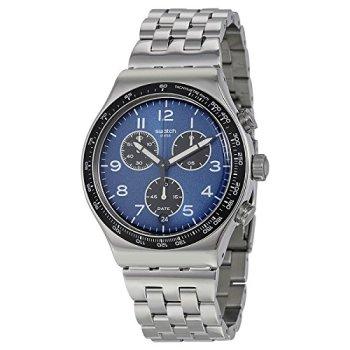 Swatch Irony Quartz Movement Blue Dial Men's Watch YVS423G