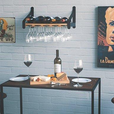 Rustic-State-Wall-Mounted-Wood-Wine-Rack-or-Liquor-Bottle-Storage-Holders-Stemware-Racks-Organizer-Natural