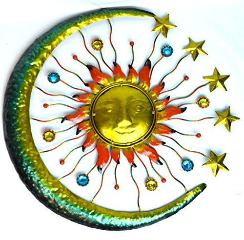 Glass Star Wall Decor : Enlightening beautiful and enchanting moon wall art