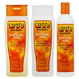 Cantu Shea Butter Shampoo + Hydrating Conditioner + Curl Activator Cream'SET' for Natural Hair