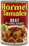 Hormel Tamales: Beef in Chili Sauce (Pack of 3) 15 oz Cans