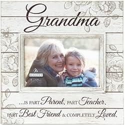 Grandma Cream Distressed Picture Frame, 4x6, Cream