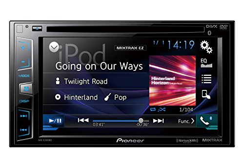 Pioneer AVH-X2800BS In-Dash DVD Receiver with 6.2' Display, Bluetooth, SiriusXM-Ready