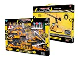 Big-Daddy Construction Toy Set Perfect Kids Construction Play Set With Over 40 Pieces Of Kids Construction Toys To Create The Perfect Imaginitive Construction Zone
