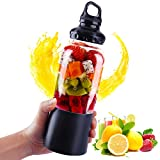 Ultra sharp Portable blender,USB Electric Safety Juicer Ultra sharp Blenders 4000mAH Fruit Juice Mixer for Outdoor Travel Camping or Home Office
