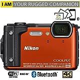 Nikon COOLPIX W300 16MP 4k Ultra HD Waterproof Digital Camera (Orange)...