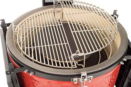 Kamado-Joe-KJ15040921-Classic-III-18-inch-Charcoal-Grill-Blaze-Red