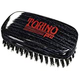 Torino Pro Wave Brushes By Brush King #29- Medium 11 Row Squared Palm Brush - For 360 waves