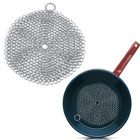 Chainmail-Scrubber-Cast-Iron-Cleaner-Stainless-Steel-Rust-Proof-More-Efficient-to-Clean-Cast-Iron-CookwarePanGrillGriddleGrateKitchen-Gadget