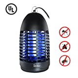 Redeo Indoor Bug Zapper Mosquito Trap Electric Fly Killer Insect Catcher Light for Home Safe Way Pest Repellent... (Black)