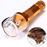 eBoTrade Electric Grinder Tabacco Spice Herb Grinder 2nd Generation Gold