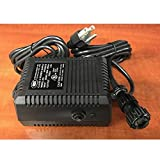 Sole Fitness 2 pin AC Adapter Power Supply Adapter Cord Pack 050-0236 Works with Nautilus Stairmaster