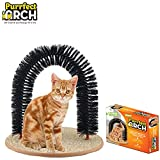 Purrfect Arch Self Grooming and Massaging Cat Toy- Reduce Shedding & Scratching  To Keep Your Home Fur Free!